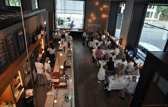 Weindegustation Restaurant Bindella