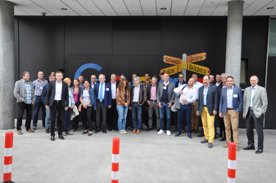 Besuch bei Google in Zürich