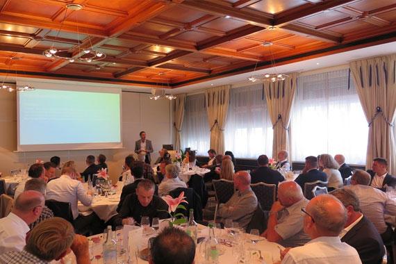 Lunch und Referat mit Nick Bänninger, Solarchain AG